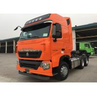 Wholesale SINOTRUK HOWO T7H MAN Engine Tractor Truck 6X4 Euro 3 / 4 440 HP ZZ4257V324HD1B from china suppliers