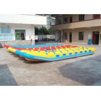 Wholesale 16 People PVC Tarpaulin Inflatable Fly Fishing Boats Giant  With Double Reinforces from china suppliers