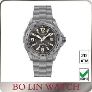 Wholesale Sapphire Glass Universal Titanium Watch , Automatic Field Titanium Quartz Watch from china suppliers