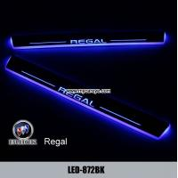 Wholesale Buick Regal auto door safety lights led moving specail scuff light for car from china suppliers