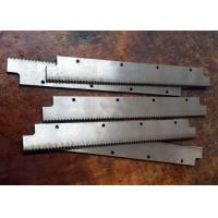 Wholesale high quality durable zigzag knife & Anvil HSS packing machine blade from china suppliers