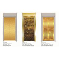 Wholesale Observation Elevator Spare Parts Gold Elevator Doors Aluminium Alloy Material from china suppliers