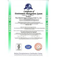 ShangHai RuiLiang Trading CO.,LTD Certifications
