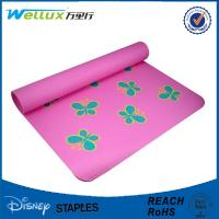Wholesale Rubber Fabric recycled Custom Yoga Mats for Exercise washable ROHS Approval from china suppliers