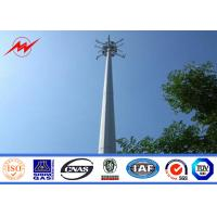 Wholesale Round Conical Mono Pole Tower Communication Distribution Monopole Cell Tower from china suppliers