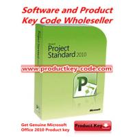 China Office Software Microsoft Office 2010 Product Key , get Office Project Standard 2010 FPP ESD Key Online on sale
