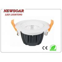 Quality high brightness cob recessed downlight made of Aluminum +Glass+PC material for sale