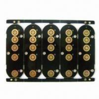 Buy cheap Double-sided PCB with Black Solder Mask and ENIG Surface Treatment from wholesalers
