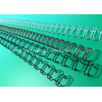 Wholesale Firm Material Colored Double Loop Wire 6.4mm 180 Flat Page Fixing from china suppliers