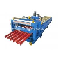 Wholesale Customized GI / PPGI / AL Steel Roof Step Tile Making Machine 8.5 * 1.5 * 1.2m from china suppliers