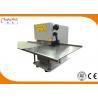 Buy cheap Small Aluminum Pcb Depanelizer Machine, Manual / Motorized Circular Blade Pcb Separator CWVC-1S from wholesalers