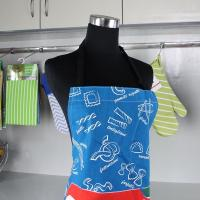Quality Promotional Digital Printed Kitchen Cotton Apron / Cooking Apron / Adult Bib Apron for sale