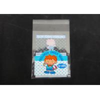 Wholesale Clear Plastic Display Self Adhesive Poly Bags For Clothing Gloss Finish from china suppliers