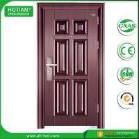 Wholesale Hot steel construction building material latest main house steel gate design interior solid wood door design from china suppliers