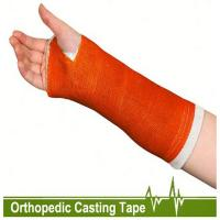 Buy cheap Free samples orthopedic  fiberglass material casting tape polymer medical bandage from wholesalers