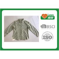 Buy cheap Soft Long Sleeve Quick Dry Fishing Shirt 100% Polyester ISO 9001 Approval from wholesalers
