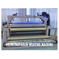 Wholesale Green Plastic Tarpaulin Making Machine Water Jet Powered High Performance from china suppliers