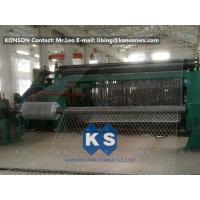 Quality Custom Hexagonal Mesh Machine Double Rack Drive For Water Conservancy for sale