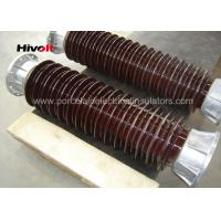 Wholesale Brown Color Station Post Insulators For 110kV Substations Metric Pitch from china suppliers