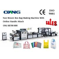 Wholesale Carry Bag Manufacturing Machine / Non Woven Bag Making Machine Approved CE from china suppliers