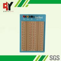 Wholesale 1680 Points Brown Solderless Circuit Board Twin Adhesive Back With Blue Plate from china suppliers