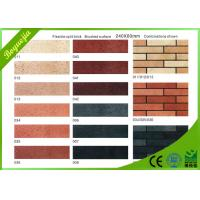 Wholesale Customised indoor decorative Split Face Brick , rediation free flexible ceramic tile from china suppliers