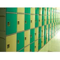 Wholesale Ventilation Plastic Gym Lockers Four Tier Anti UV Aging Waterproof Storage Locker from china suppliers