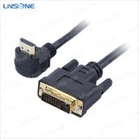 Wholesale Linsone 18+1 pin dvi to  cable from china suppliers