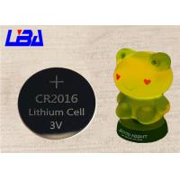 Wholesale Prime High Capacity CR2016 Button Batteries Durable For Toy Light from china suppliers