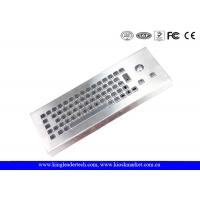 Wholesale USB Interface Desktop Rugged Keyboard Trackball With 65 Keys from china suppliers
