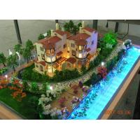 Wholesale Beautiful Miniature Architectural Model Maker , Real Estate Scale Models from china suppliers