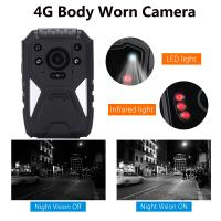 Quality Full HD 1440P 3G 4G Security Guard Wireless WIFI Police Video Body Worn Camera for sale