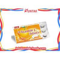 Wholesale Orange Flavored Organic Sugar Free Candy Vitamin C Supplement Blister Pack from china suppliers