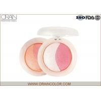 Wholesale Multi - Colored natural shimmery pink blush Powder Healthy Mineral Ingredient from china suppliers