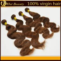 Wholesale Brown Brazilian Remy Human Hair Extensions  from china suppliers