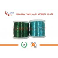 Wholesale Colored Enamelled Copper Wire , Super Enamel Coated Copper Wire For Precision Resistor from china suppliers