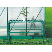 Wholesale Durable Green Garden Staging / Flower Rack For Greenhouses / Sheds With Single Tier from china suppliers