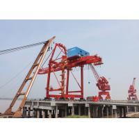 Ship To Shore Port Gantry Crane For Container Handling , Quayside Container Crane