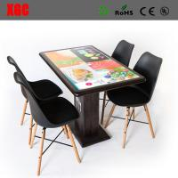 Wholesale The interactive dining table for malls, and airports - offers customers a state-of-the-art ordering system, entertainmen from china suppliers