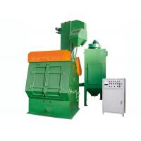 Quality Green Crawler Industrial Shot Blasting Equipment For Non - Ferrous Metal Castings for sale
