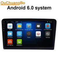 China Ouchuangbo 10.1 dvd video player for Volkswagen Santana 2013 with AUX wifi calculator  steering wheel control on sale