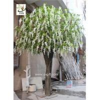 Wholesale UVG WIS012 artificial flower tree with fake wisteria blossoms for party background decoration from china suppliers