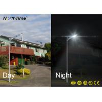 Wholesale Timed Solar Panel Street Light 6W - 120W MPPT Controller Sunlight / Motion Sensing from china suppliers