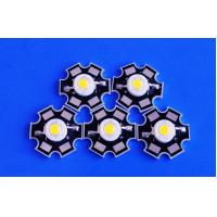 Wholesale 120LM 1w High Power Led Chip With Bridgelux Chip , Warm White from china suppliers
