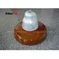Wholesale Ceramic Disc Type Insulator , Porcelain Products Insulators Anti Fog from china suppliers