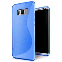 Wholesale S - Line Opaque Rubber Soft TPU Matte Custom Cell Phone Covers For Samsung S8 from china suppliers