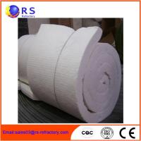 Wholesale White Ceramic Insulation Blanket For Boiler / Refractory Ceramic Fire Blanket from china suppliers
