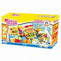 Wholesale Fantasy Kitchen Kit Educational Toy, Non-toxic, Kids DIY sets, comply with EN71 standard from china suppliers