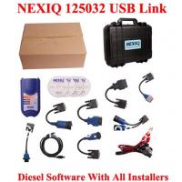 Wholesale XTruck USB Link 125032 Heavy Duty Vehicle Interface Truck Diagnosis Software with All Inst from china suppliers