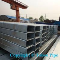 Buy cheap ST52/ST37 hot dipped galvanized square/rectangular tube/pipe from wholesalers